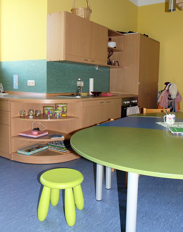 Kinderküche Kita Oberheldrungen